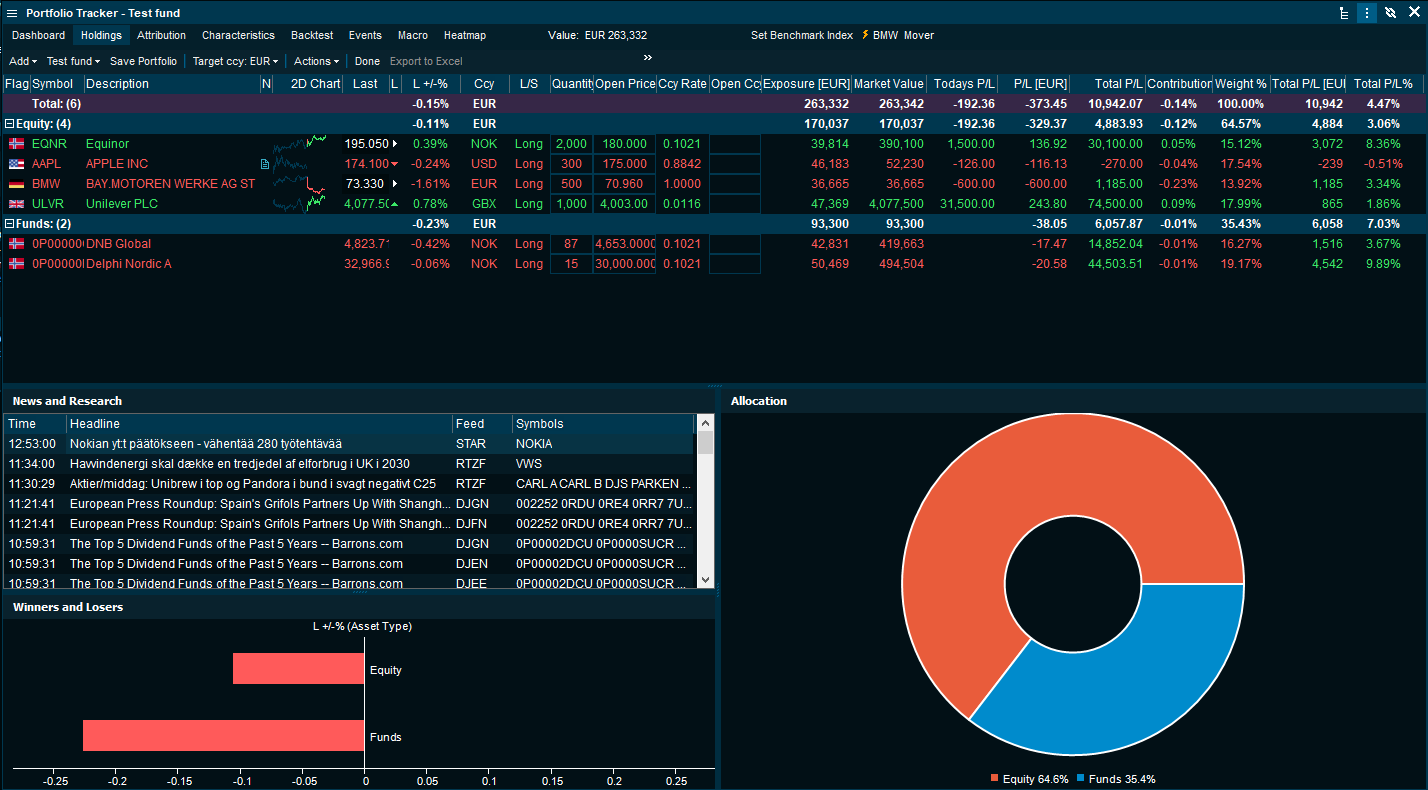 IPT: Portfolio Tracker Screen Shot  190307