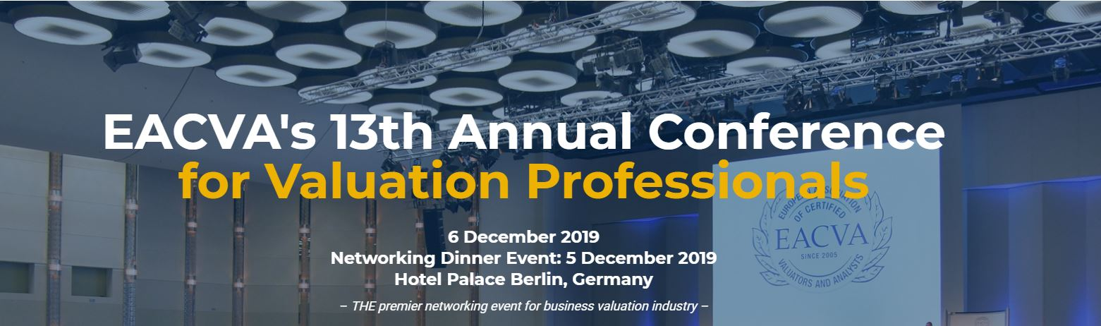 EACVA's 13th Business Valuation Conference